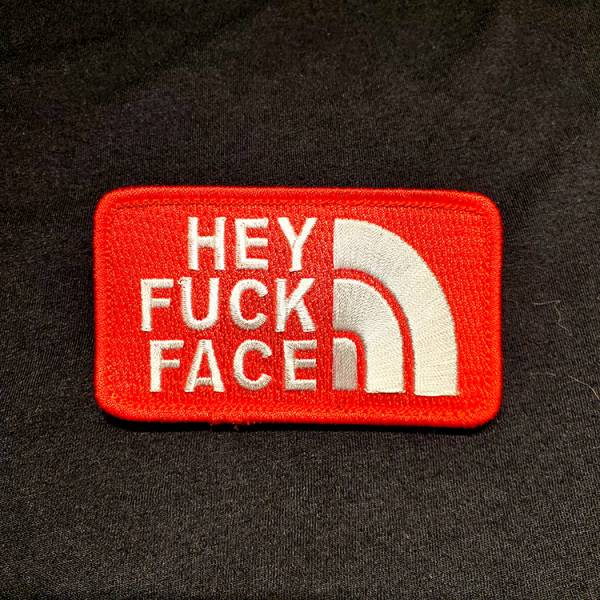 OTT【Hey Fuck Face Patch】 ott,ottgear,patches,臂章,魔鬼氈,刺繡