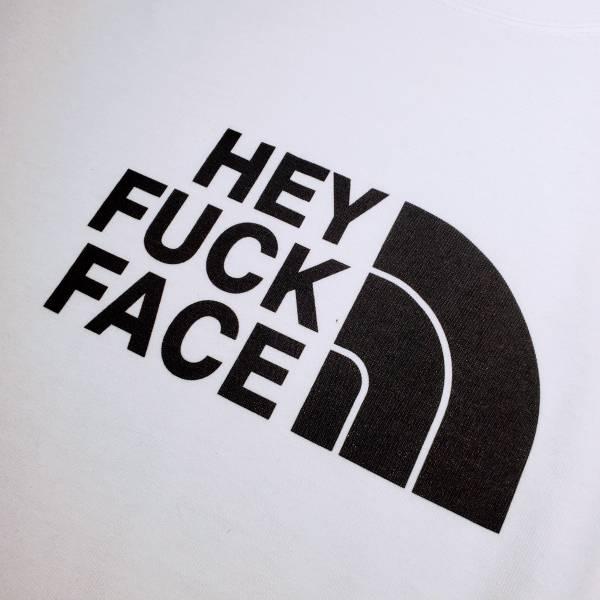 OTT【Fuck FaceT-白色】