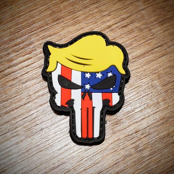 OTT【Trump Punisher Patch】 ott,ottgear,臂章,PVC臂章,復仇者