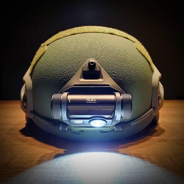 Nitecore【HC65M Tactical Helmet Light】 OTT,OTT Gear,Nitecore,頭燈,戰術頭燈,帽燈,盔燈,墨魚乾 燈,頭盔燈,戰術頭盔 燈,照明燈,信號燈