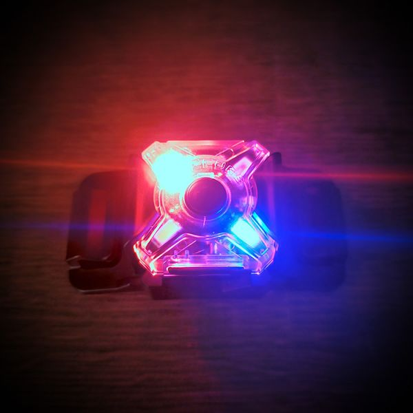 Nitecore【NU05 LE执法人员警示灯】  ott,ottgear,nitecore,警示灯,求生灯,自行车灯,头灯,运动灯