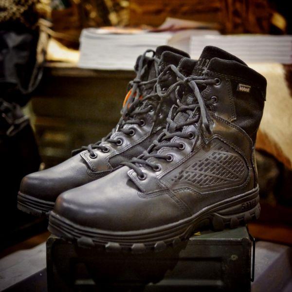 "5.11【EVO 6"" Waterproof Boot with Sidezip】#12313 ott,ottgear,511,5.11,5.11台北,5.11台灣,5.11taiwan,5.11台灣總代理,5.11台灣總經銷,戰術靴,軍靴,警靴,勤務靴,防水靴,戰術鞋,勤務鞋,防水鞋,鋼頭,安全鞋"