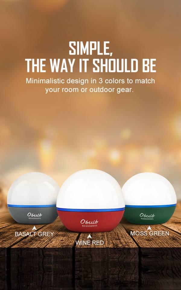 Olight【球型磁吸式露營燈】