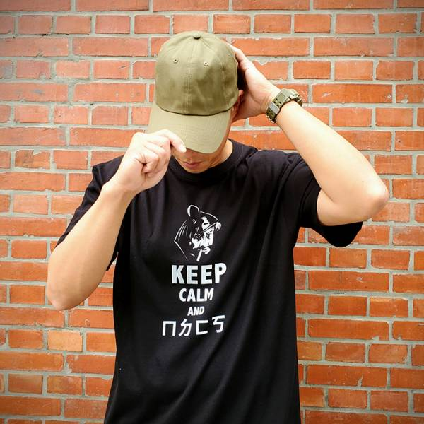 OTT【Keep Calm and ㄇㄉㄈㄎ T-shirt】 ott,ottg,otter,otttaiwan,ottgear,5.11台北,T恤,T-shirt,客製,客製印刷,制服,團服,機能服,排汗服,棉T