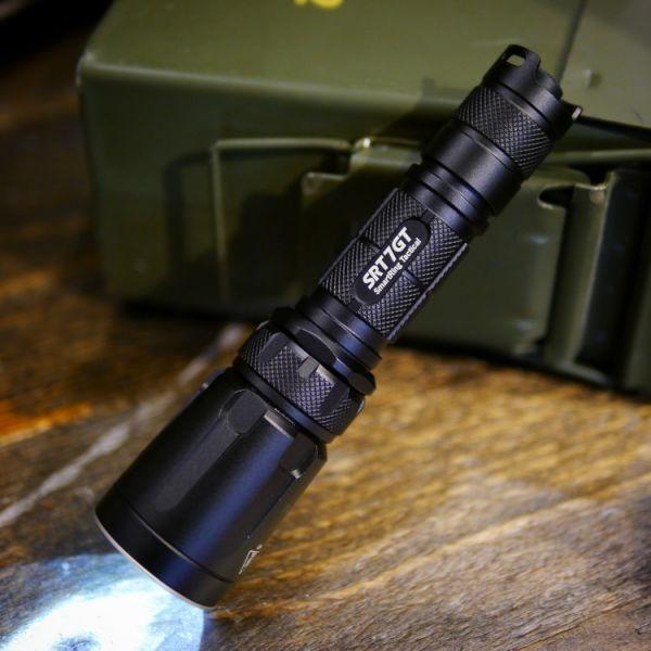 Nitecore【SRT7GT Tactical Flashlight】 ott,ottgear,nitecore,手電筒,戰術手電筒,勤務裝備,勤務手電筒,強光手電筒,多功能手電筒,紫外光,紫外線,驗鈔燈