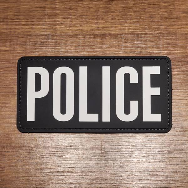 OTT【Police警察识别章L号(15x7.5cm)】 ott,ott gear,臂章,PVC臂章,警察臂章,POLICE PATCH,POLICE臂章
