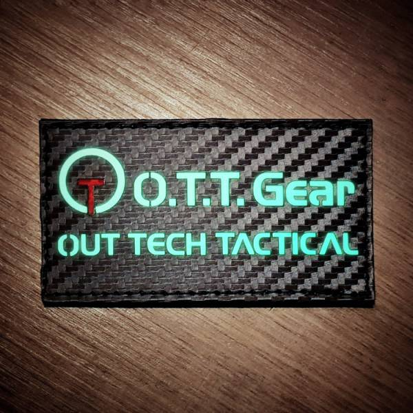 OTT【O.T.T Gear Logo Patch】 ott,ottgear,patches,臂章,魔鬼氈,刺繡