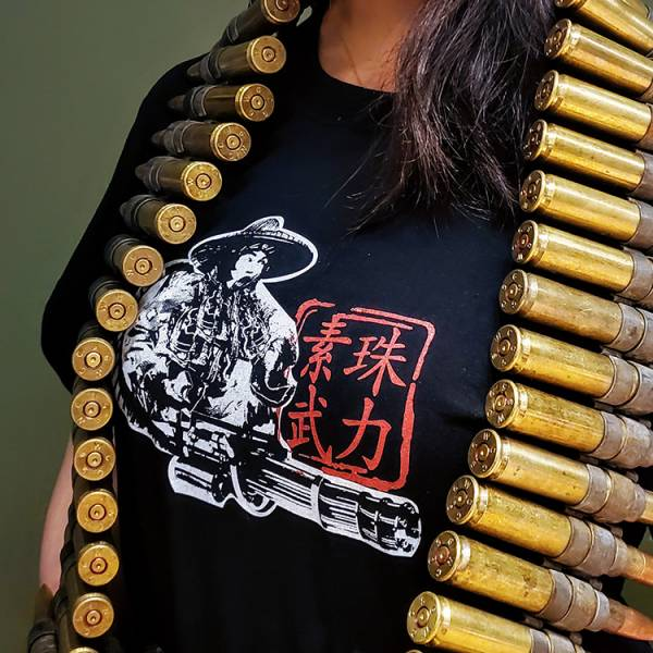 OTT【素珠武力T】 OTT,OTTGEAR,OTT GEAR,T-shirt,tshirt,shirt,T恤