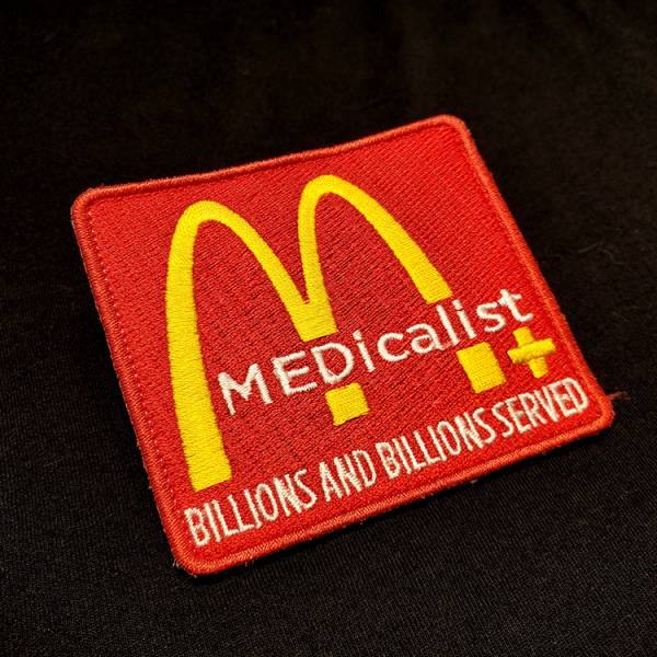 OTT【Medicalist麦当劳臂章】 ott,ottgear,patches,臂章,魔鬼毡,刺绣