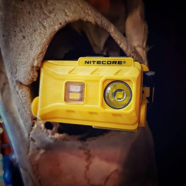 Nitecore【NU25輕量化頭燈】