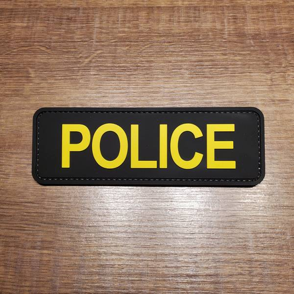"OTT【Police Patch 6"" x 2""】 ott,ott gear,臂章,PVC臂章,警察臂章,POLICE PATCH,POLICE臂章"