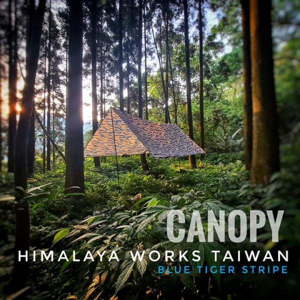 Himalaya Works【輕量虎斑天幕】 ott,ottgear,HimalayaWorks,uzi,露營用品,天幕,越戰虎斑,3米天幕