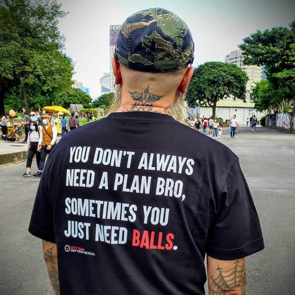 OTT【Just Need Balls… T-shirt】 OTT,OTTGEAR,OTT GEAR,T-shirt,tshirt,shirt,T恤