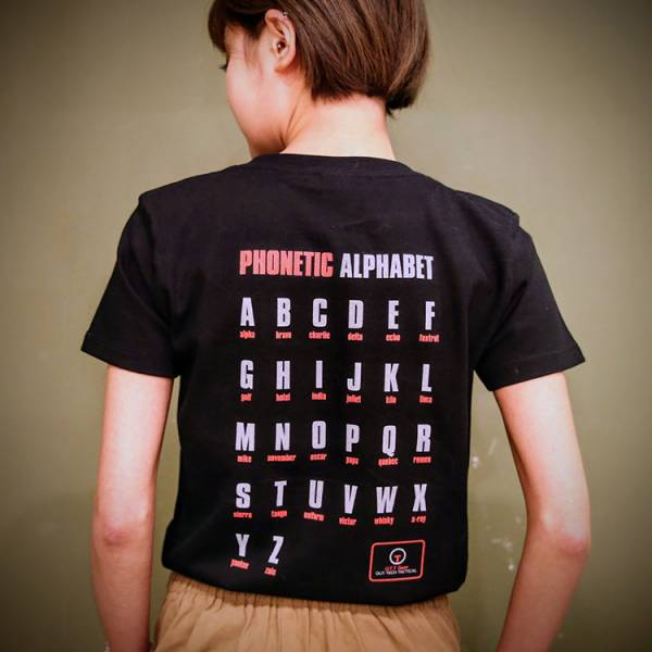OTT【無線電呼號T-黑色】 OTT,OTTGEAR,OTT GEAR,T-shirt,tshirt,shirt,WTF,呼號,無線電