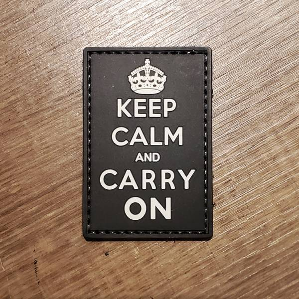 OTT【Keep Calm and Carry On 臂章】