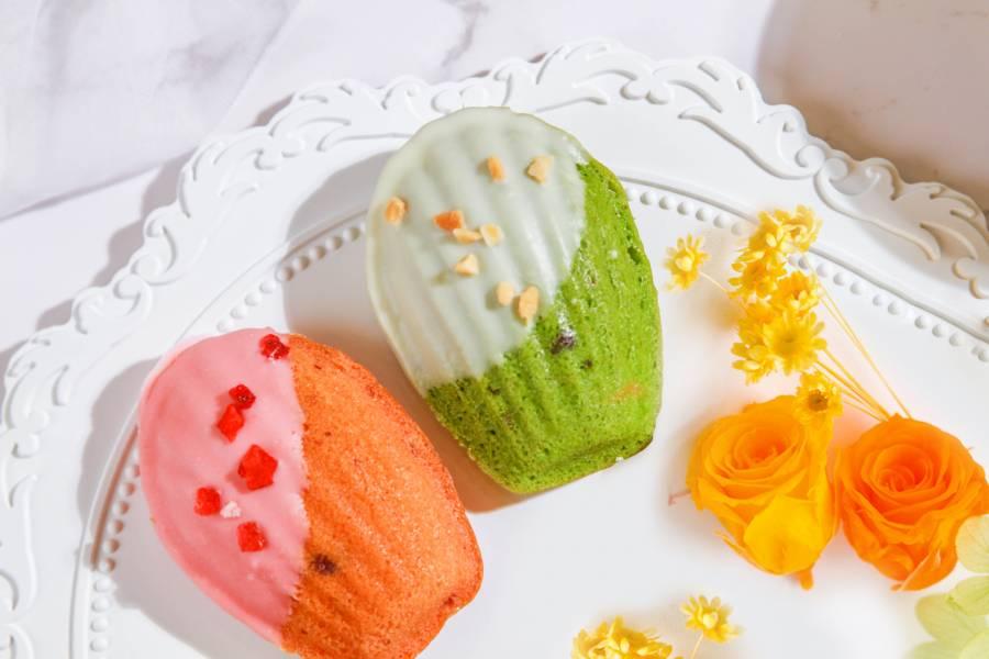 【揪嗨派】瑪德蓮 草莓,抹茶,瑪德蓮