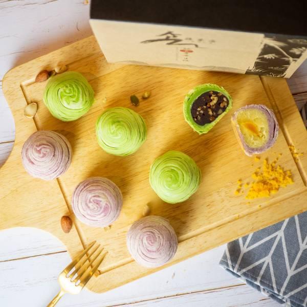 【食蔬茶齋】蛋黃酥8入 母親節,蛋糕,芒果,巧克力