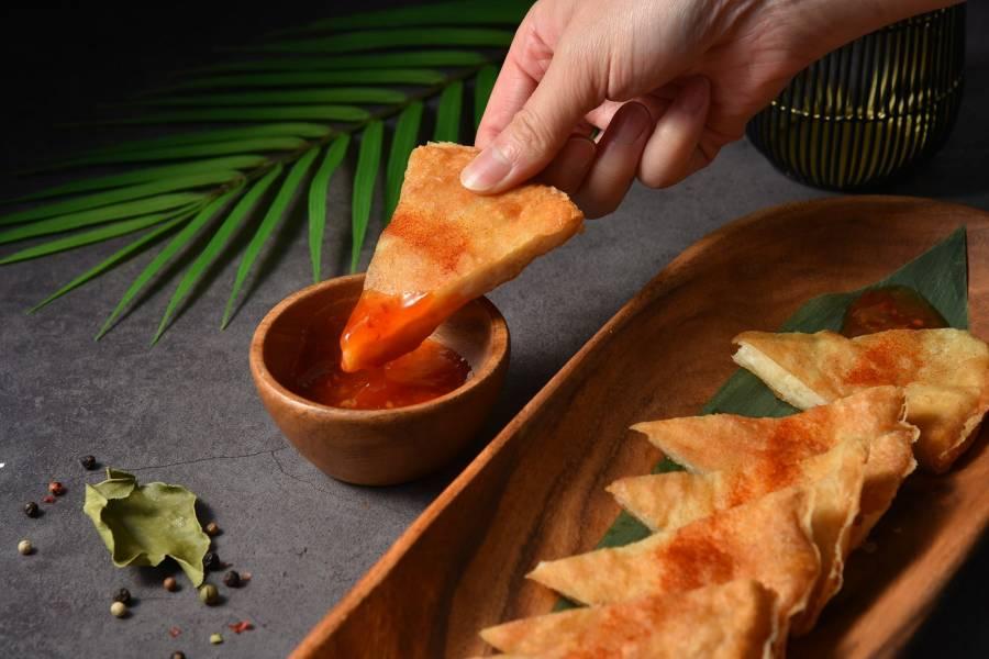 泰丘經典月亮蝦餅 泰式,月亮蝦餅,泰國,蝦餅