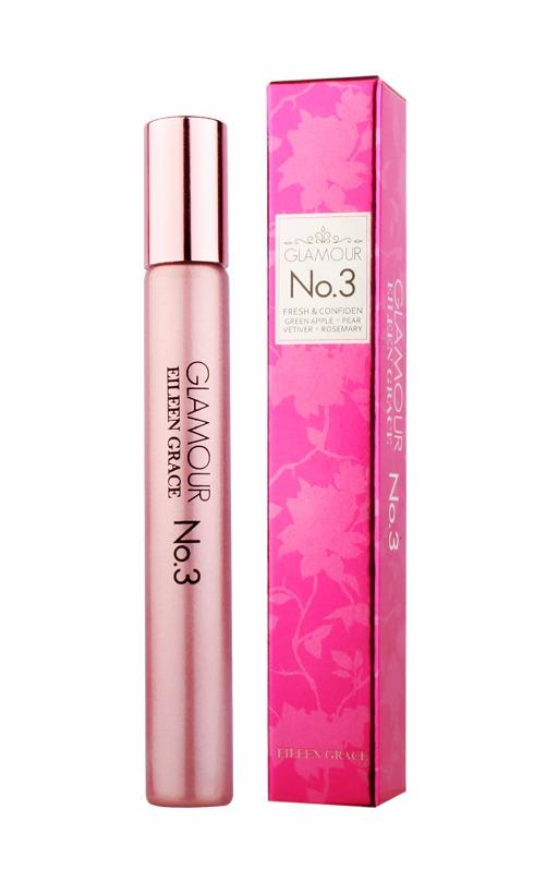 Eileen Grace GLAMOUR No.3 Perfume Pen, fresh & confident, Green Apple & PEAR VETIVER & ROSEMARY 10ml