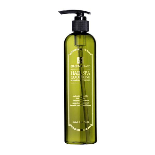 妍霓絲 髮根豐盈沁涼SPA精油洗髮精500ml、SGS檢驗無添加、不含矽靈、豐盈順滑、99%滅菌效果(抗皮屑芽孢菌)、綿密胺基酸泡泡,內含咖啡因,推薦按摩1分鐘後沖洗,可強健毛囊