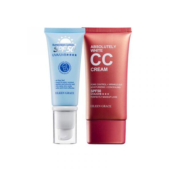 Sunscreen CC Cream Kit – CC Cream & Sunscreen Lotion