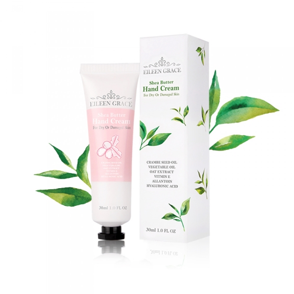 GLAMOUR SHEA BUTTER HAND CREAM/ White Tea