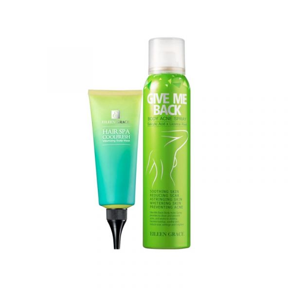 [only available in Taiwan] Body Kit – Body Acne Spray & Scalp Mask 2pcs,
