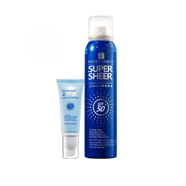 [only available in Taiwan] Sunscreen Mix Kit - Sunscreen Spray & Sunscreen Lotion