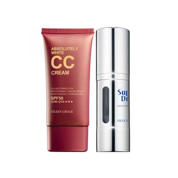 [Free Gift] moisturizer serum & CC Cream,  底妝,彩妝,粉底,CC霜,保濕精華
