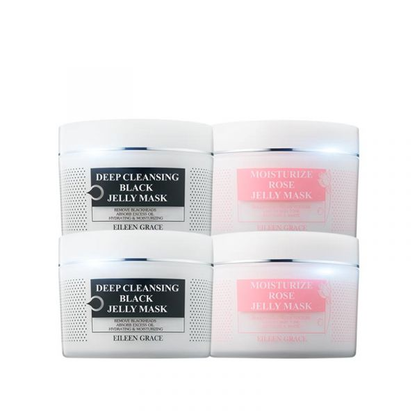 [Free Gift] SPA Facial Mask Kit - Black Jelly Mask & Rose Jelly Mask/ either 4,  黑凍膜,玫瑰凍膜
