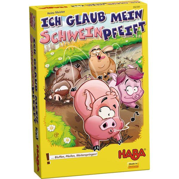 《公休優惠》 德國 HABA 302391 Ich glaub 豬 【優惠價不提供刷卡】  德國 HABA 302391 Ich glaub 豬