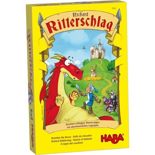 德國版 HABA 7123 Richard Ritterschlag 布蘭登騎士 德國 HABA 7123  Richard Ritterschlag 布蘭登騎士