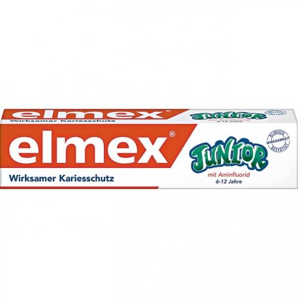 Elmex junior 青少年牙膏 製造日期2018.8月 elmex junior 牙膏