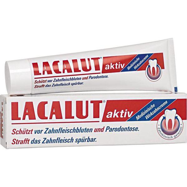 Lacalut 牙膏100 ml Lacalut aktiv 牙膏