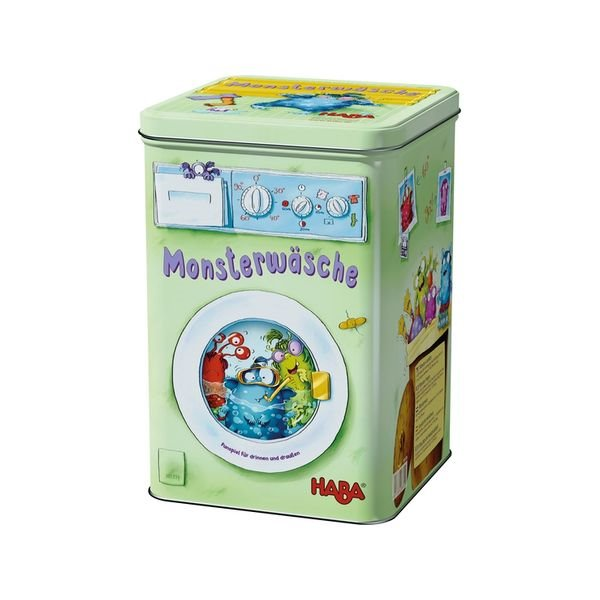 德國 HABA 301339 Monsterwasche 怪獸洗衣機 HABA 301339 Monsterwasche 怪獸洗衣機