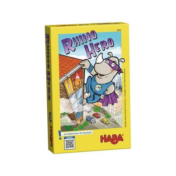 HABA 4092 Rhino Hero 犀牛 【優惠價不提供刷卡】  HABA 4092 Rhino Hero 犀牛