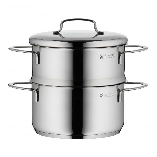 WMF mini 不銹鋼湯鍋 蒸鍋 含蒸籠 16公分 WMF mini 不銹鋼 湯鍋 蒸鍋