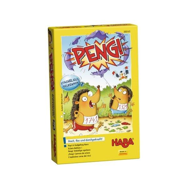 德國版 HABA 300141 Peng 刺蝟賽跑 HABA 300838 Monstermenu 怪獸菜單