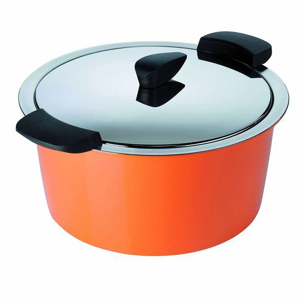 Kuhn Rikon hotpan 1L 休閒鍋 橘色 【優惠價不提供刷卡】  Kuhn Rikon hotpan 休閒鍋