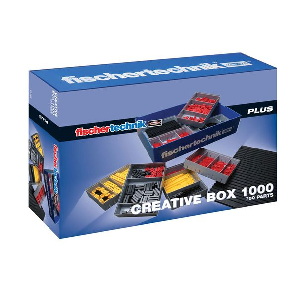 慧魚積木 Fischertechnik PLUS Creative Box 1000  【優惠價不提供刷卡】 慧魚積木 Fischertechnik 91082 PLUS Creative Box 1000