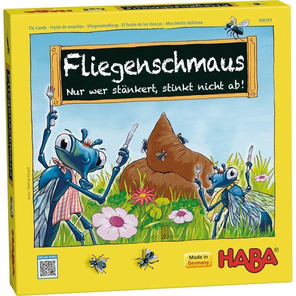 德國 HABA 300301 Fliegenschmaus 蒼蠅  【優惠價不提供刷卡】 德國 HABA 300301 Fliegenschmaus 蒼蠅