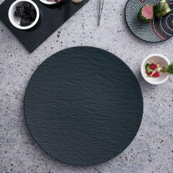 Villeroy & Boch Manufacture Rock 圓盤32公分 Villeroy Boch Artesano Nature 藍色 餐盤 27公分