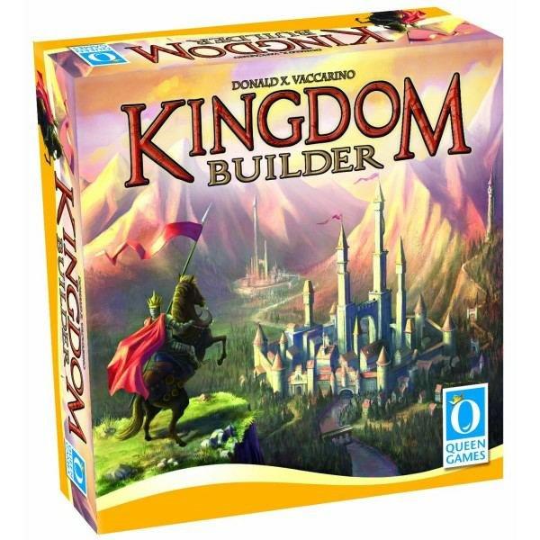 Queen Games Kingdom Builder 開國英雄 【優惠價不提供刷卡】 Queen Games Kingdom Builder 開國英雄