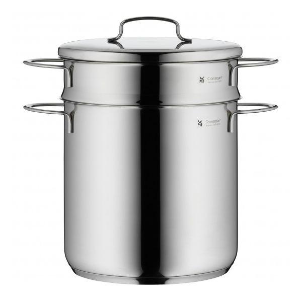 WMF mini 不銹鋼湯鍋 蒸鍋 煮麵鍋 含蒸籠 18公分 WMF mini 不銹鋼 湯鍋 蒸鍋 煮麵鍋
