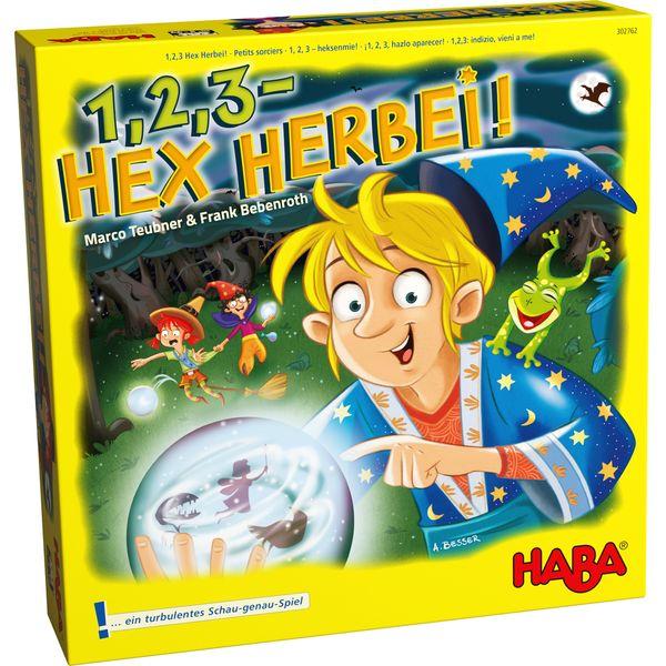 德國版 HABA 302762  Hex herbei 魔法學徒 德國 HABA 302762  Hex herbei 魔法學徒