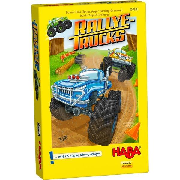 德國版 HABA 303685 Rallye Trucks 卡車 HABA 303685 Rallye Trucks 卡車