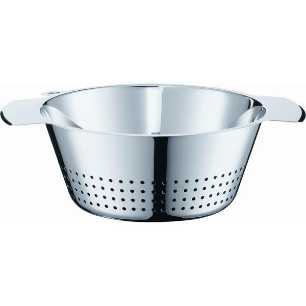 Rosle 不銹鋼濾鍋 洗菜籃 水果籃 24公分 Rosle 不銹鋼 圓形 濾鍋 洗菜籃 水果籃 24公分