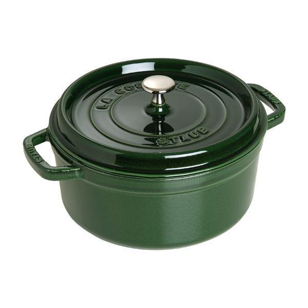 Staub 鑄鐵鍋 迷你圓鍋 10公分 綠色 優惠價不提供刷卡 Staub 鑄鐵鍋