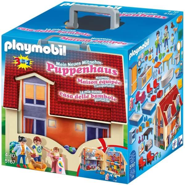 預購 德國版 Playmobil 5167 手提娃娃屋 德國 Playmobil