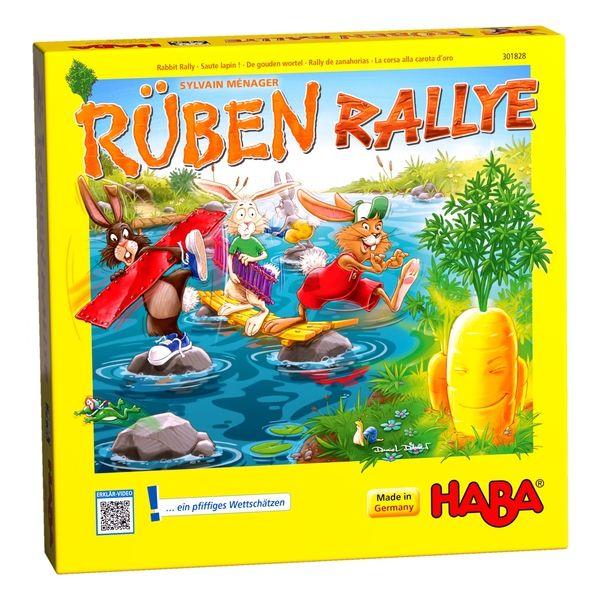 德國 HABA 301828 Ruben Rallye 兔子 德國 HABA 301828 Ruben Rallye 蹦跳兔大挑戰